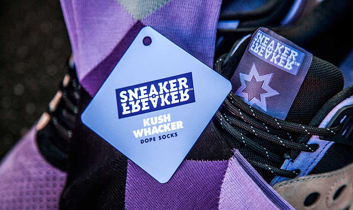 kushwhacker, sneakerfreaker, sneaker freaker kushwacker, saucony, snkr frkr,