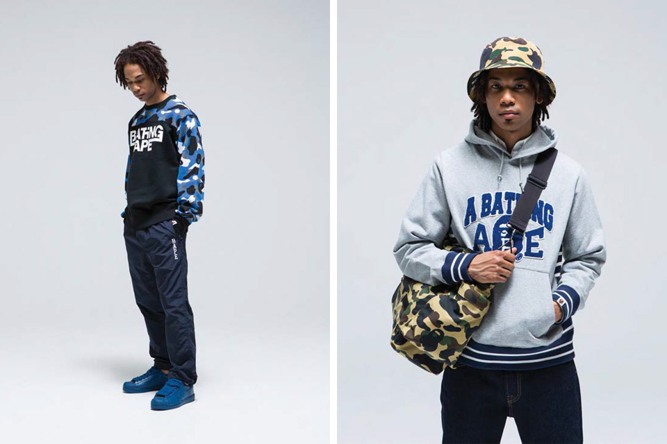 A Bathing Ape Autumn/Winter 2015 Lookbook