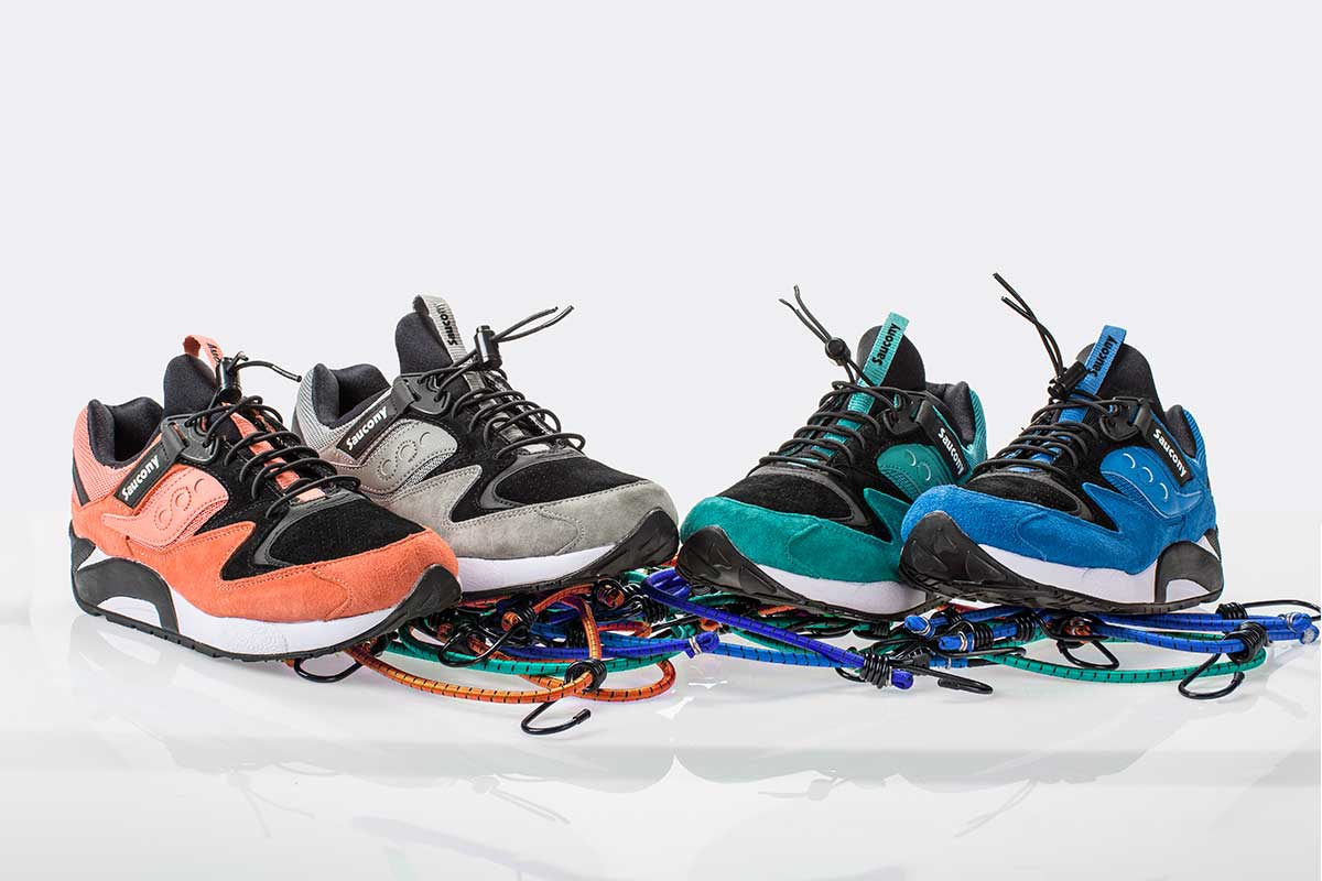 "Saucony Grid 9000 ""Bungee Pack"""