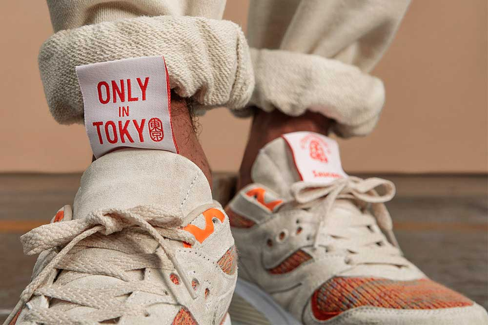 "Saucony, Footpatrol & BEAMS – ""Only in Tokyo"" Capsule collection"