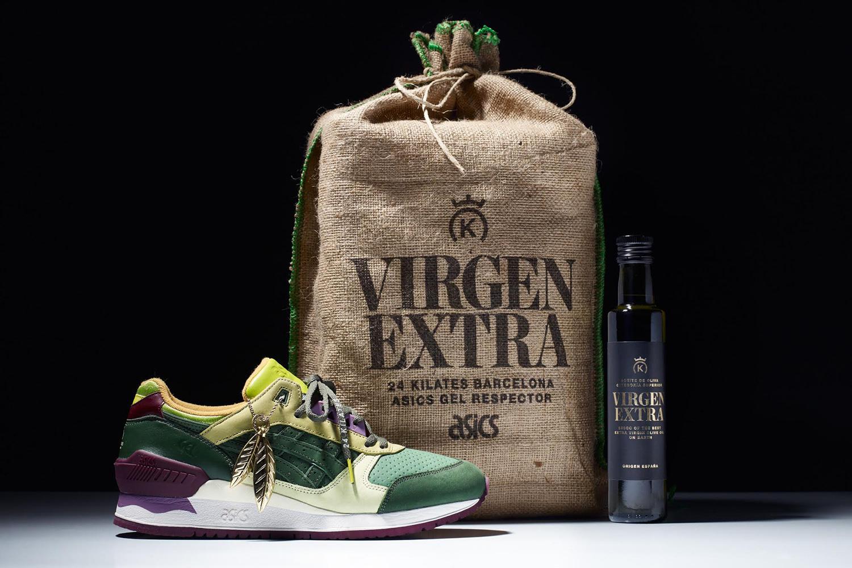 """ASICS x 24 Kilates """"Virgen Extra"""" GEL-Respector"""