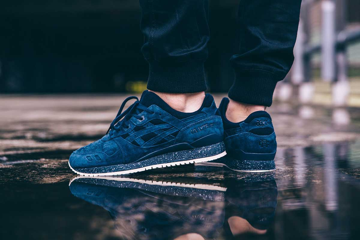 ASICs x Reigning Champ – GEL Lyte III. Vancouver's Reigning Champ is making a strong foray into the footwear market with a new sneaker collaboration alongside Japanese marque ASICS.