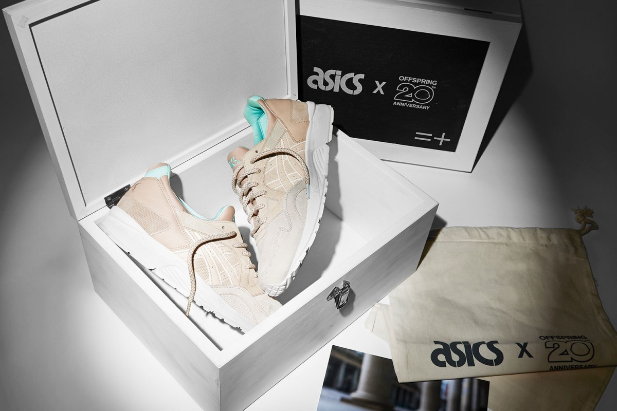 Back in 1996, Offspring set up shop in the cobbled streets of Covent Garden. Twenty years later, that little store has expanded into one of the UK's biggest boutique chains and the crew are celebrating the milestone with an ASICS collab inspired by those very same cobbled streets.