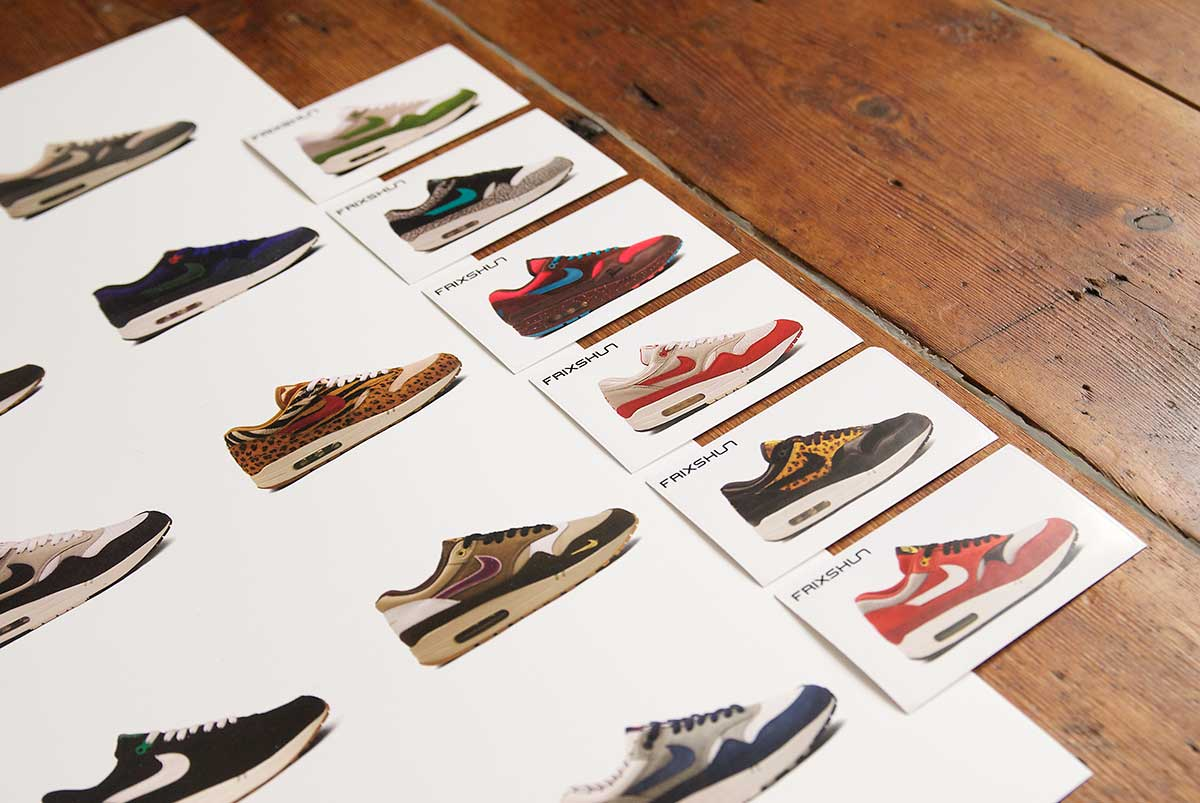 brand new 5590d 0c9cb NIKE Air Max 1 Poster Pack. £20.00
