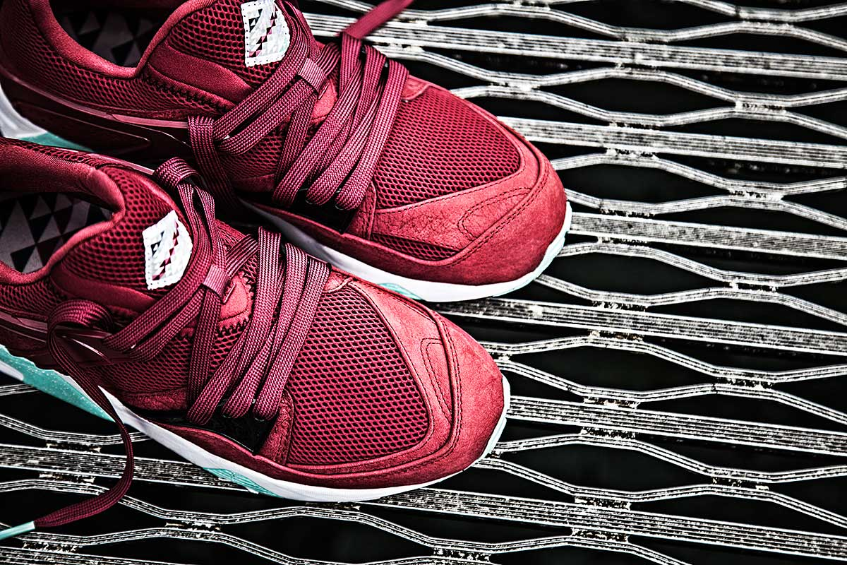 "PUMA x Sneaker Freaker x Packer Shoes – ""Bloodbath"" Blaze of Glory"