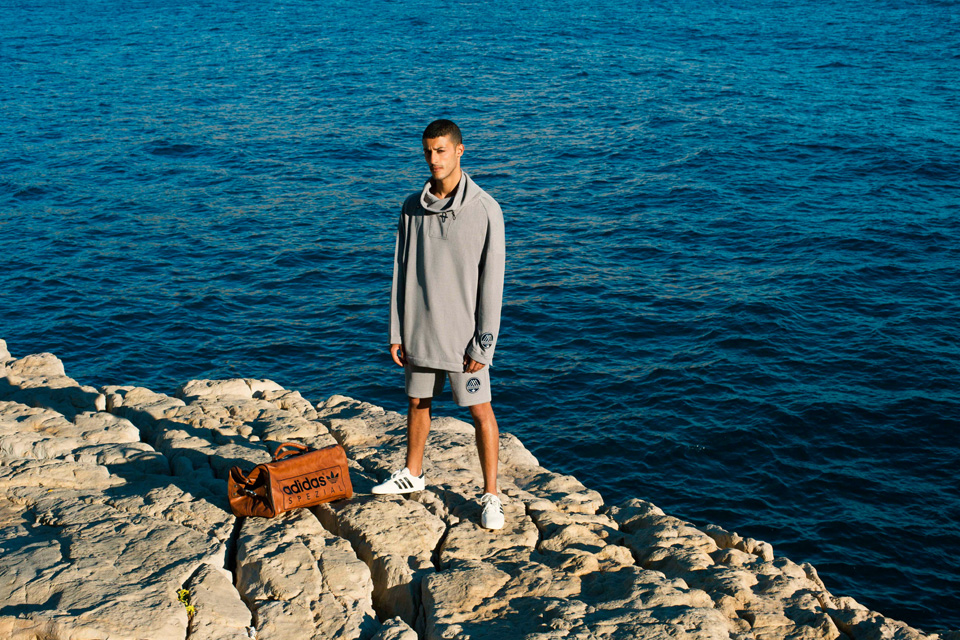 adidas SPEZIAL goes to the French Riviera to shoot its SS16 Lookbook for a collection that's littered with maritime influences. The range includes eleven apparel pieces that are re-designed and re-invented in premium fabrics and modern cuts.