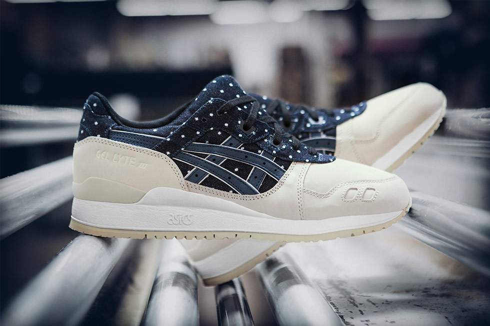 Additional Pictures Of The Asics Gel Lyte 3 Japan Textile