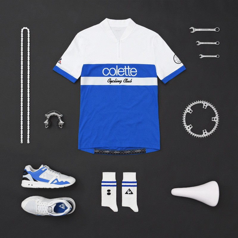 First introduced in an exclusive collaboration with colette last year, Le Coq Sportif has decided to bring back its range of cycling attires for another season. This time around the sportswear manufacturer teams up with four more premier retailers in Slam Jam, Footpatrol, Highs and Lows and Sivasdescalzo.