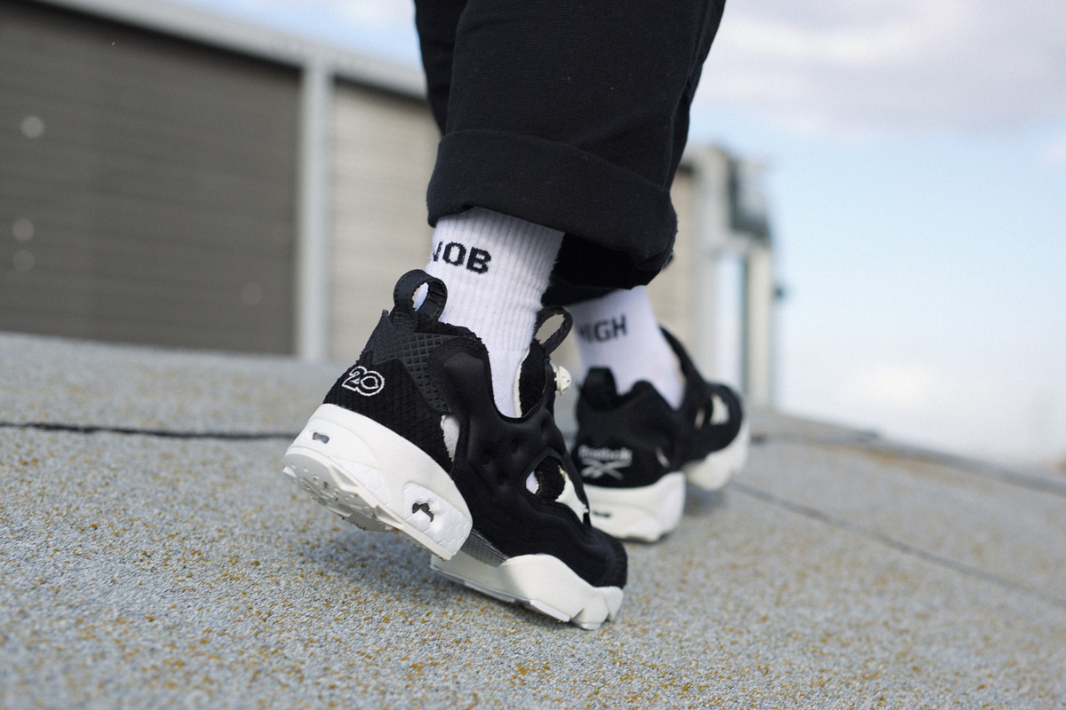 British retailer OFFPRING continues to celebrate its 20th anniversary year and now to commemorate the occasion, it has partnered with Reebok to rework one of its runaway successes born in the same period
