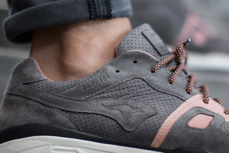 "Germany's asphaltgold is back with part two of its ""Katz & Mouse"" pack, introducing the ""Mouse"" alongside KangaROOS. After the 'Katz' Omnirun was launched at the beginning of April, the German store now releases the natural counterpart to this cat-inspired shoe."