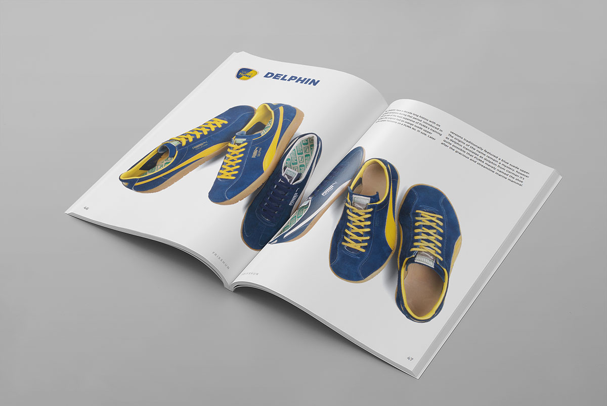 For Autumn 2016 Frixshun Magazine presents Obermaterial Vintage Qualität Volume 1 – a visual and written guide to PUMA sports shoes, focusing on models from the companies vast back catalogue.