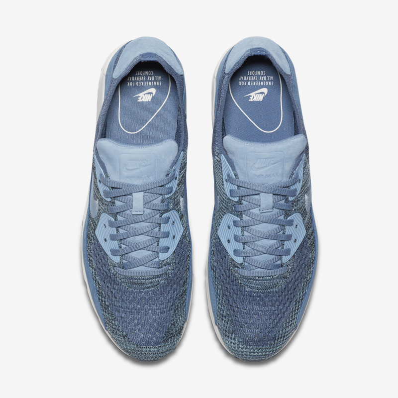 Introducing the Nike lab air max 90 flyknit. Nike lab have given the iconic model a revamp using the latest flyknit technology. The upgrade follows their recent transformation of the Nike Air Max 1 which was also given a woven enhancement.